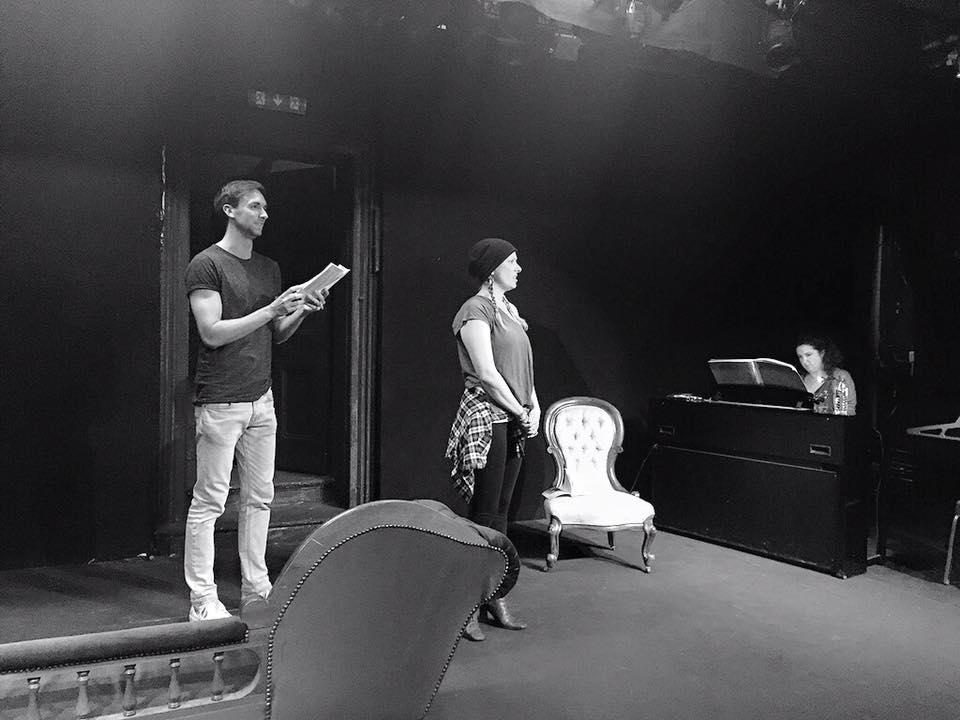 Romance Romance (rehearsals)